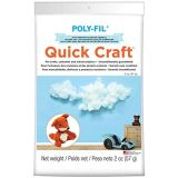 2-Ounce Quickcraft White Polyester Fiber Fill