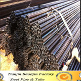 Black Round Cold Rolled Steel Tubing