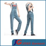 Womens Loosen Denim Jean Straps Jumpsuit Jeans Suspenders Trousersens (JC1179)