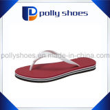 Printing Customer Logo Rubber Flat Flip Flop High Quality