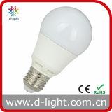 Plastic Coated Aluminum A60 E27 Producer IC Driver LED Bulb