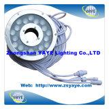 Yaye 18 Waterproof IP68 DMX 18W LED Pool Light/ 18W DMX LED Underwater Light / LED Underwater Lamp with Warranty 2 Years