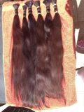 Unprocessed Natural Russian One Donator′s Human Hair Bulk