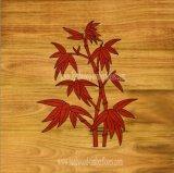 Mahogany Bamboo Wood Marquetry Flooring From China