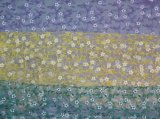 3D embroidered Water Soluble Lace Fabric