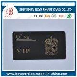Gold Hostamp Black Luxury Plastic VIP Card