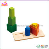 2015 Colorful Wooden Jenga Blocks Tumbler Set of Tower in Cheapest Price W13D041