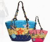 Lady Fashional Straw Beach Bag (kll1206-6)