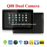 Hot Sell Q88 Tablet PC Dual Camera with Low End Price