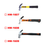 American Type Claw Hammer with Fibreglass Handle