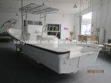 Liya China 7.6m 10persons Small Fiberglass Fishing Boat FRP Hull Boat