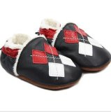 Genuine Leather Baby Shoes in Winter