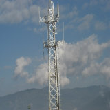 Advanced Configuration 50 Years Seivice Life Guy Wire Telecom Tower
