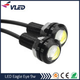 Wholesale LED DRL Light Car Daytime Running 23mm 9W 12V Eagle Eye