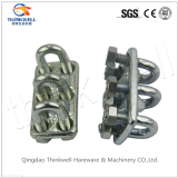 Standard Fastener Stamping Galvanized Triple Wire Rope Clips
