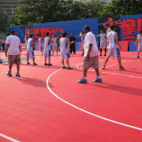 High Durable PP Interlocking Flooring for Outdoor Basketball Court