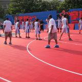 High Durable PP Interlocking Flooring for Outdoor Basketball Court