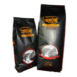 Coffee Packaging Bag with Valve and Vivid Gravure Printing