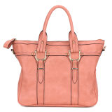Vintage Solid Color Lady Fashion Tote Handbag (MBNO034076)