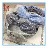 Wholesale Fashion Women Cloth Rabbit Ear Bowknot Headband