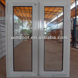 Cheap Price PVC American Window with Grill Design