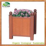 Wood Plastic Composites Flower Planter for Garden Decoration