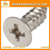 Ss304/316 Cross Csk Head Tapping Screw