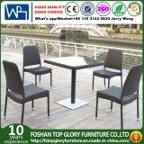 Cheap Garden Rattan Outdoor Wicker Patio Furniture Dining Set (TG-848)