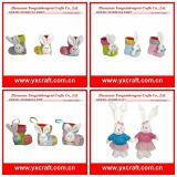 Easter Rabbit Decoration for Kids Easter Tea Set