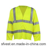 Flame Resistant High Visibility Long Sleeve Safety Clothing