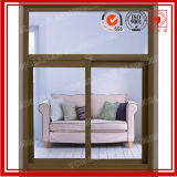 Wooden Grain Aluminium Window Factory with Standard As2047