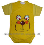 100% Cotton High Quality Baby Bodysuit (BRP7058)