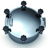 Sanitary Stainless Steel Pressure Man Hole (IFEC-MH100001)