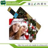 Full Color Printing Plastic Drive Credit Card USB Stick