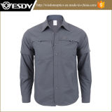 Wholesale Men's Tactical Quick-Drying Long-Sleeved Shirt