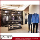 Customize Wooden Display Furnitures for Brand Menswear Shop