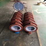 Worm Gear Operation Flanged F4 Lined Butterfly Valve
