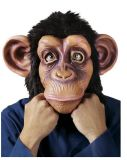 Black Monkey Rubber Halloween Latex Mask Fancy Dress Costume Party