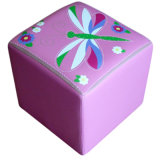 Fashion Doll House Baby Furniture/Children Stool and Ottoman (SXBB-142)