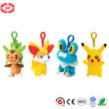 Cartoon Shape Poke Mon Cute Gift Kids Keychain Toy
