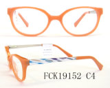 Kids Fairy Cat Shape and Picture Acetate Optical Frames