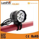 Yzl861 Aluminum Mountain Bike Light Xm-L T6 Cycling Light LED