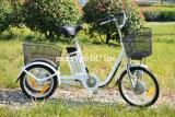 250W Mini Electric Cargo Trike with Front & Rear Basket