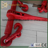 Drop Forged Ratchet Type Load Binder in Red