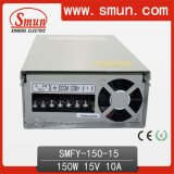150W 15VDC LED Rainproof Switching Power Supply with CE RoHS Approved