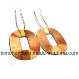 Rx-Coil with Adhesive Copper Wire for Wireless Charger Receiver