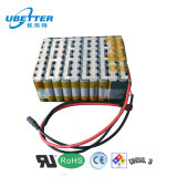 36V Rechargeable 18650 Lithium Battery Pack