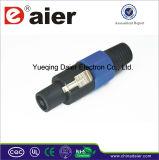 Mini XLR to Jack Connectors Adapter Audio Video Plug