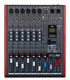 6 Channels with LED Professional Audio Mixing Console Le6