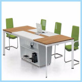 Metal Office Desk Call Center 6 Person Workstation for Meeting